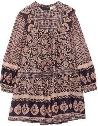 Sea Margo Long Sleeve Tunic Dress in Lilac