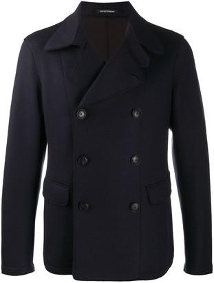 Emporio Armani Double-Breasted Short Jacket