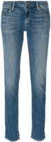 Paige low rise skinny jeans