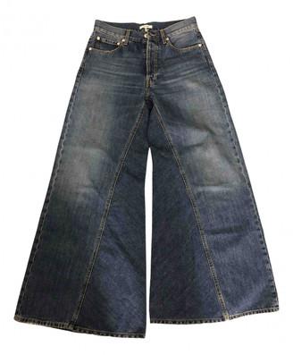 Ganni Blue Denim - Jeans Jeans