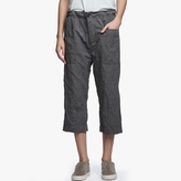 James Perse Cotton Metal Cropped Pant
