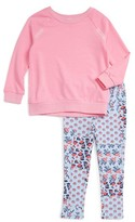Splendid Girl's French Terry Sweatshirt & Leggings Set