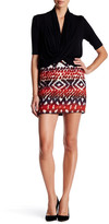 Fifteen-Twenty Fifteen Twenty Blanket Stitch Hem Skirt