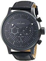 Jacques Lemans Men's 1-1795E Porto Analog Display Quartz Black Watch
