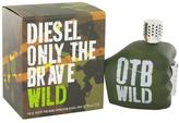 Diesel Only The Brave Wild by Eau De Toilette Spray for Men (4.2 oz)