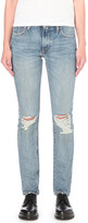 Levi's 505 C straight mid-rise jeans