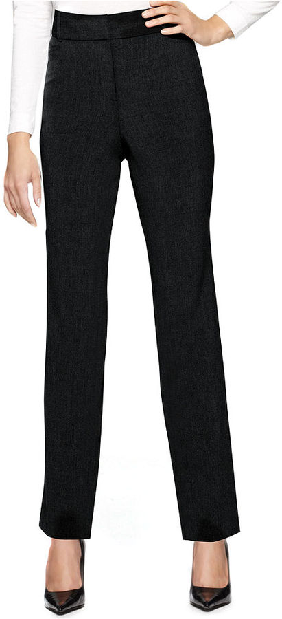 Style&Co. Pants, Tummy Control Comfort Waist Straight Leg