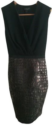 Giambattista Valli Black Wool Dress for Women