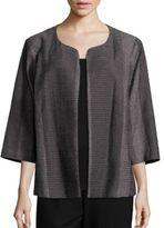 Eileen Fisher Kurume Printed Open Jacket
