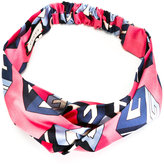 Gucci wallpaper print headband - women - Silk - One Size