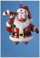 "Kurt Adler Patrick Star in Santa Suit Blow Mold SpongeBob Christmas Ornament 3.25"""