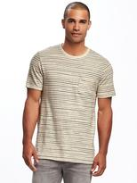 Old Navy Striped Linen-Blend Tee for Men