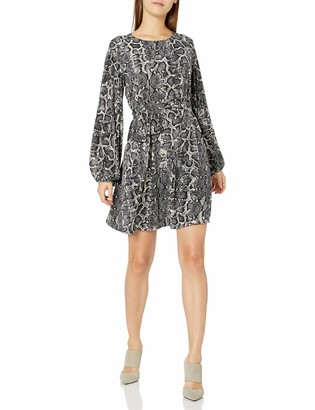 Show Me Your Mumu Women's Long Sleeve Shift Dress