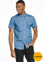 Lee Short Sve Western Shirt