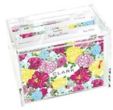 The Well Appointed House Lilly Pulitzer Personalized Recipe Box-Heritage Floral