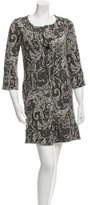 Diane von Furstenberg Patterned Mini Dress