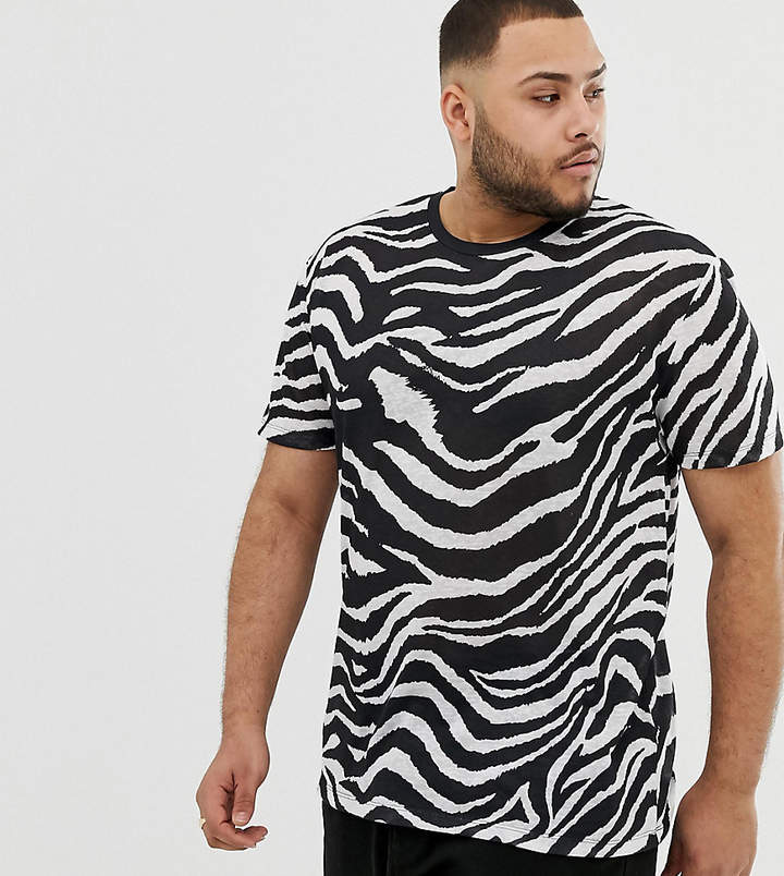 ace785769951f Zebra Print Shirt Men - ShopStyle