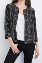 Velvet Embroidered Jacket