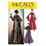 Mccall's McCalls Ladies Sewing Pattern 6818 Cape & Dress Fancy Dress Costume
