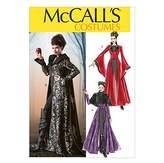 Mccall's McCalls Ladies Sewing Pattern 6818 Cape & Dress Fancy Dress Costume