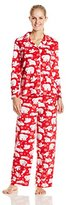 Karen Neuburger Women's Minky Fleece Pajama Set