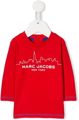 Little Marc Jacobs city skyline print T-shirt