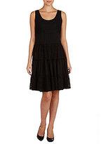 Peter Nygard A-line Lace Dress