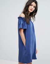 French Connection Stayton Off Shoulder Dress