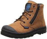Palladium Pampa HI Leather Gusset Boot (Toddler/Little Kid/Big Kid)