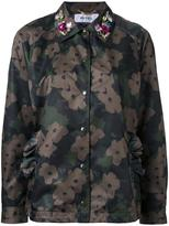 Muveil floral camouflage jacket