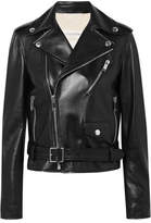 Valentino The Rockstud Leather Biker Jacket - Black