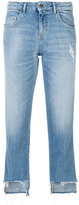 Twin-Set distressed cropped jeans - women - Cotton/Spandex/Elastane - 27