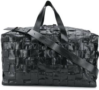 Bottega Veneta Woven Leather Holdall