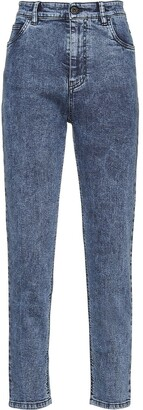 Miu Miu Brooke high-waisted jeans