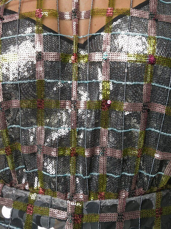 Thumbnail for your product : Marco De Vincenzo Sheer Sequin-Embellished Dress