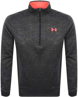Under Armour Half Zip Sweatshirt Black