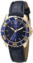 Vernier Women's VNR11183YG Analog Display Japanese Quartz Blue Watch