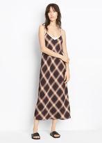 Vince Plaid Slip Dress