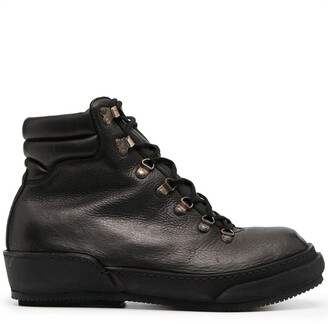Guidi Lace-Up Leather Hiking Boots