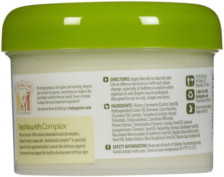 BabyGanics Healin' Groovy Non-Petroleum Protective Ointment - 7.5 oz