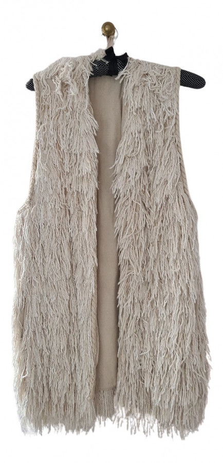 Thumbnail for your product : Isabel Marant Ecru Silk Coats