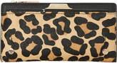 Dune Kerrie leopard print pony purse