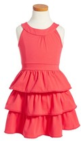 Kate Spade Toddler Girl's Pom Skirt Dress