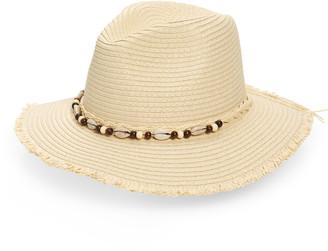 BP Shell Detail Straw Hat