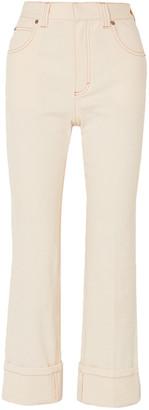 Chloé High-rise Straight-leg Jeans