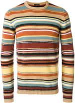 Roberto Collina striped knit jumper