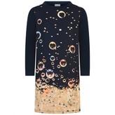 Paul Smith JuniorGirls Navy Bubbles Print Prima Dress