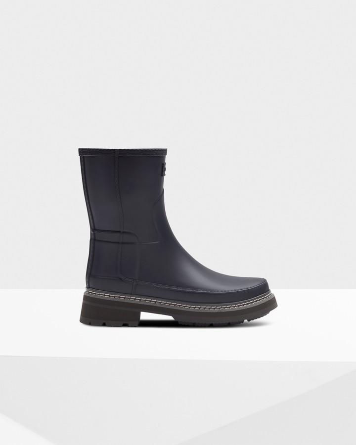 Hunter Women's Refined Stitch Detail Short Wellington Boots