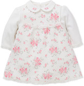 Little Me Baby Girls' 2-Pc. Bodysuit & Floral-Print Jumper Set