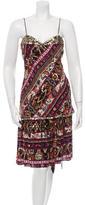 Diane von Furstenberg Embellished Skirt Set